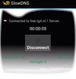 slowdns connect