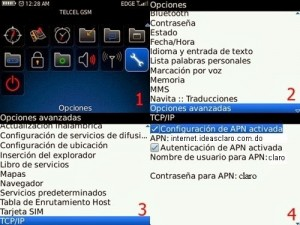 internet gratis para blackberry