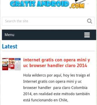 internet gratis android