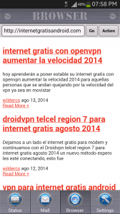 internet gratis 3g android