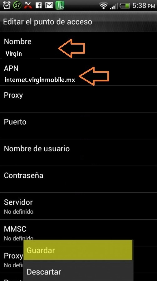 APN Virgin Mobile