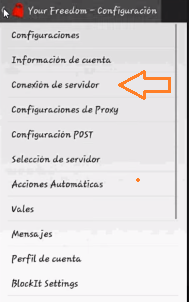 settings de yourfreedom