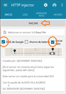 http injector server nuevo 2016 internet gratis android