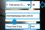 host para claro brasil 2016 internet gratis android web tunnel