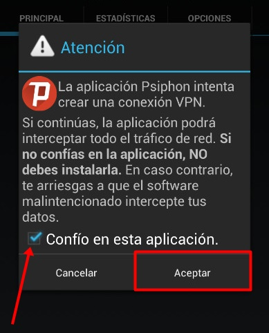 conectar apk psiphon pro gratis android 2017