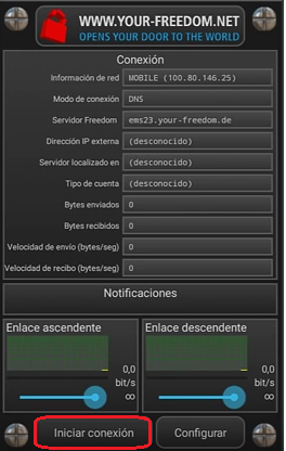 configurar-your-freedom datos ilimitados gratis