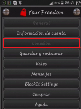 configuracion your freedom internet bolivia gratis android