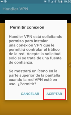 handler vpn android movistar internet gratis