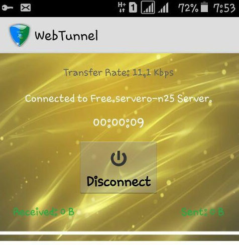 webtunnel estable tigo colombia