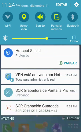 Descargar y conectar Hotspot shield elite apk 2017 android