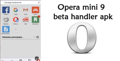 apk opera mini 9 beta handler internet gratis