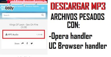 como descargar canciones con uc browser mini handler
