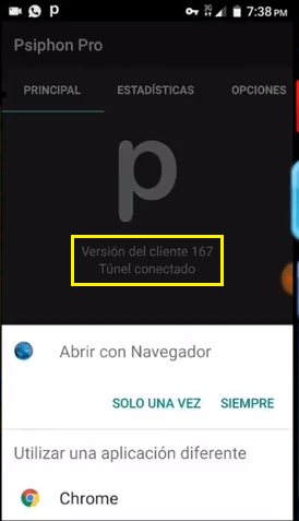 entel chile internet gratis con psiphon pro vpn android