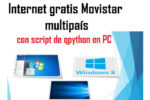 internet gratis movistar en pc con script qpython