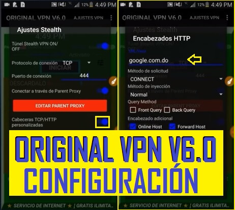 descargar original vpn v6.0 apk gratis android