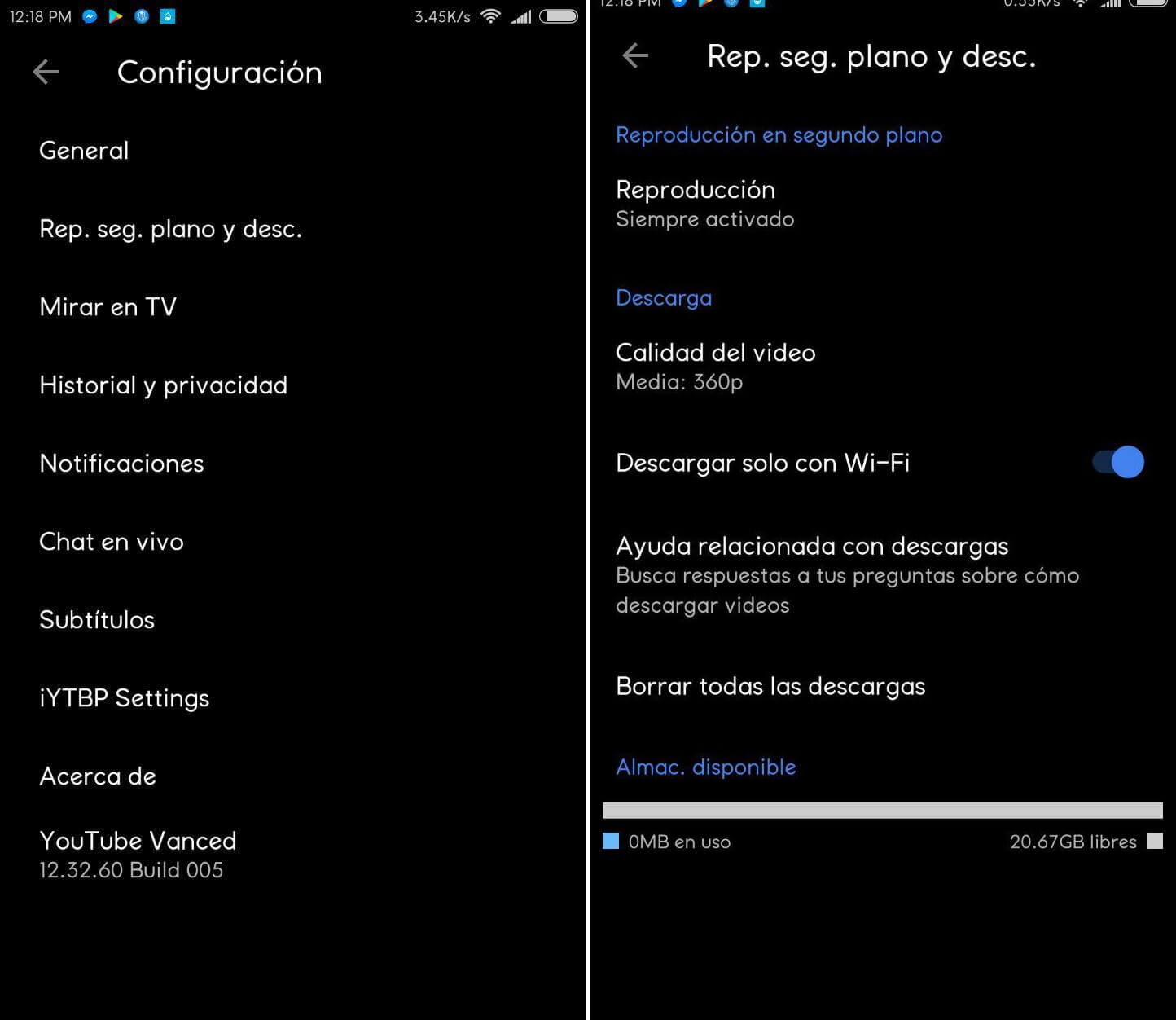 instalar activar youtube red apk gratis android free
