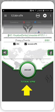 conectar tital vpn apk free android