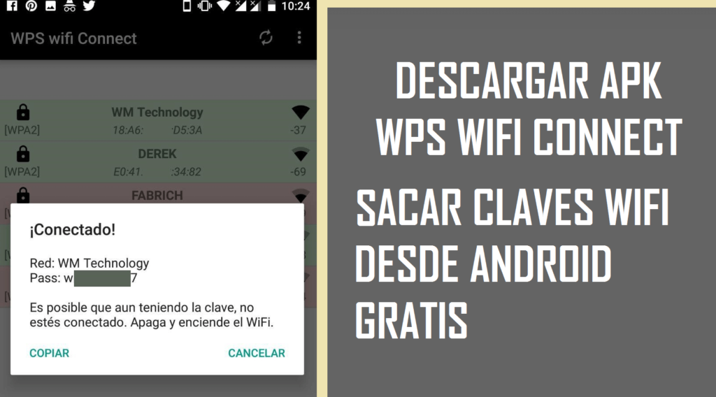 descargar wps wifi connect apk android gratis 2018 pro vip app