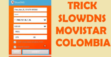 trick slow dns movistar colombia 2018 internet gratis 4g