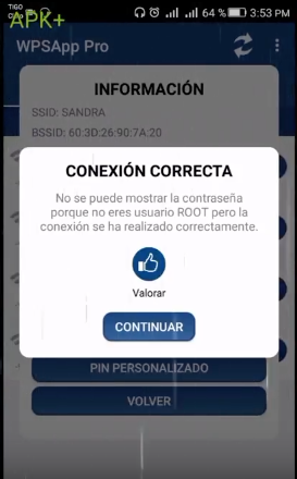 WPS App pro apk para conectarse a redes wifi gratis sin root