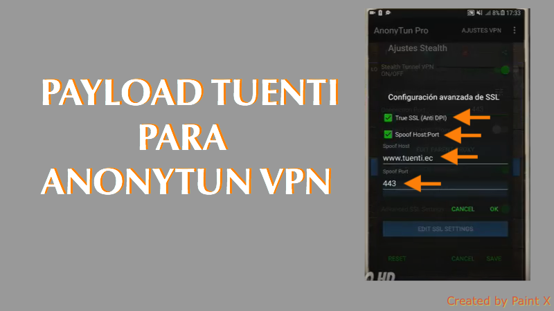 payload tuenti anonytun vpn asus apk app 2018 android