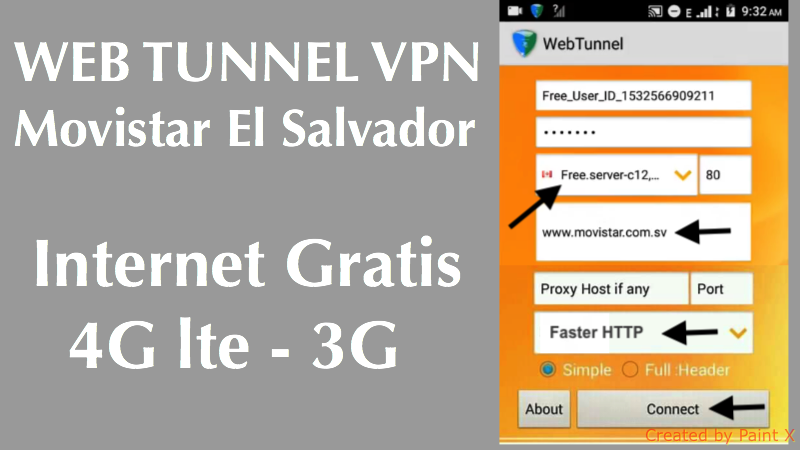 descargar web tunnel movistar el salvador 2018 internet gratis vpn ilimitado