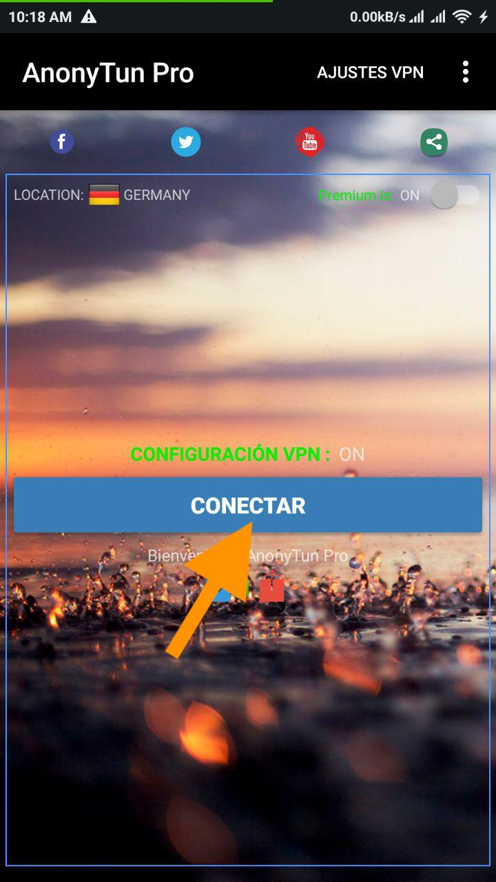 conectar host trick payload claro guatemala 2019 anonytun vpn apk mod