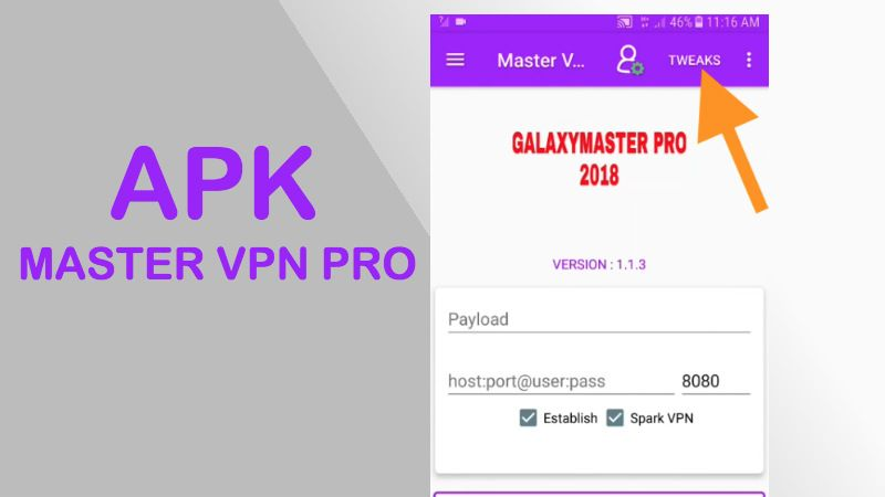 master vpn pro apk 2018 gratis android entel server