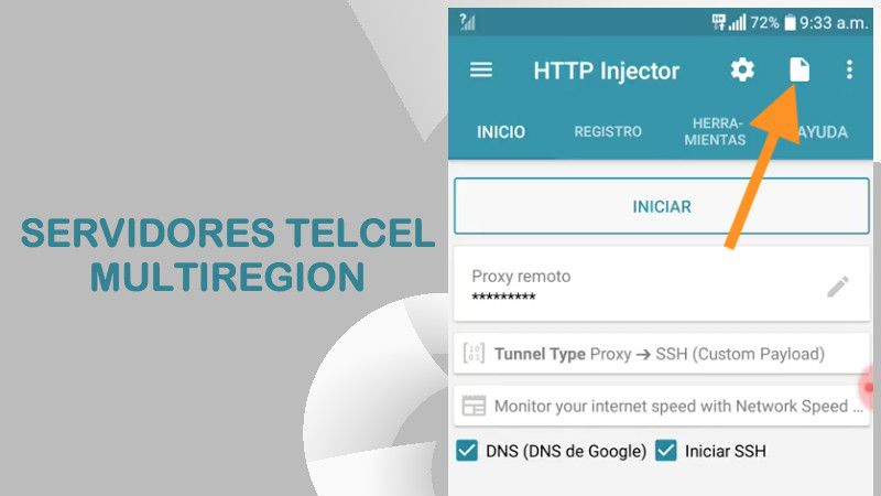 servidores multiregion telcel http injector apk custom kpn tunnel rev