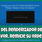Error del renderizador de audio pc